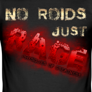 Design ~ No Roids- Red Tshirt