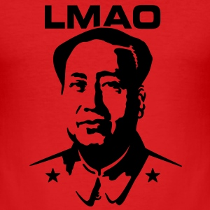 LMAO (Mao Zedong) T-Shirts - Männer Slim Fit T-Shirt