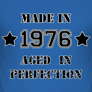 Made in 1976 T-shirts - Herre Slim Fit T-Shirt