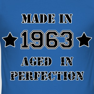 Made in 1963 T-shirts - Slim Fit T-shirt herr