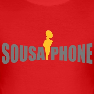 sousaphone T-Shirts - Men's Slim Fit T-Shirt