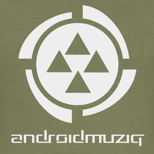 Android Muziq - Light Grey logo on Brown