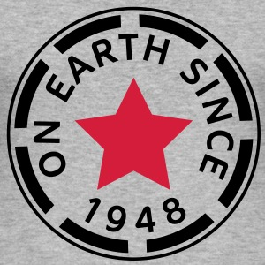 on earth since 1948 (uk) T-Shirts - Men's Slim Fit T-Shirt