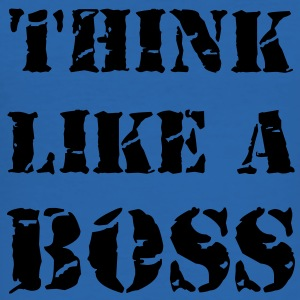 Think like a boss T-skjorter - Slim Fit T-skjorte for menn