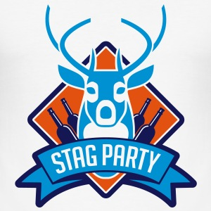 Stag Party 1 (3c)++ T-shirts - Herre Slim Fit T-Shirt
