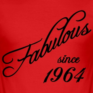 Fabulous since 1964 T-Shirts - Men's Slim Fit T-Shirt