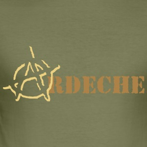 Anarchy Ardeche Tee shirts - Tee shirt près du corps Homme