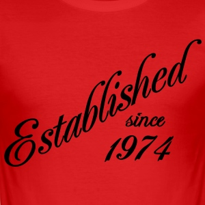 Established since 1974 Tee shirts - Tee shirt près du corps Homme
