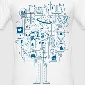CREATIVE | MEN - Männer Slim Fit T-Shirt