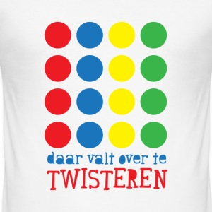 Valt niet over te twisteren! - slim fit T-shirt