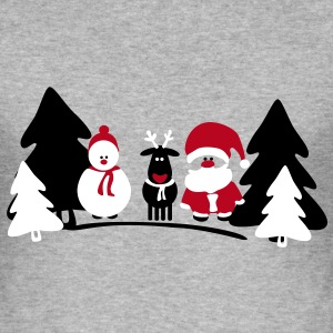 christmas crew 2 T-Shirts - Men's Slim Fit T-Shirt