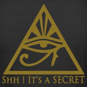 Illuminatis All Seeing Eye - Tee shirt près du corps Homme