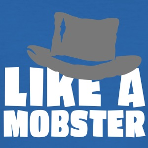 like a mobster 2c Tee shirts - Tee shirt près du corps Homme