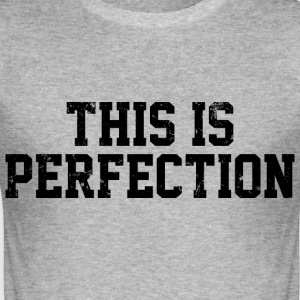 This is perfection vintage - Tee shirt près du corps Homme