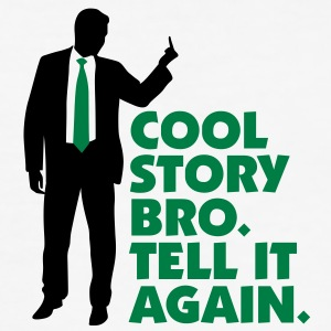 Cool Story Bro 1 (2c)++2012 T-shirts - Slim Fit T-shirt herr