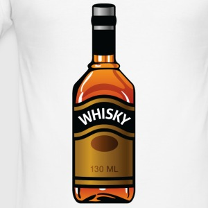 Whisky Bottle (dd)++2012 T-Shirts - Männer Slim Fit T-Shirt