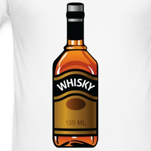 Whisky Bottle (dd)++2012 Tee shirts - Tee shirt près du corps Homme