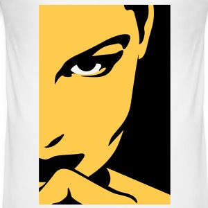 Woman Mysterious Face (2c)++2012 T-shirts - slim fit T-shirt