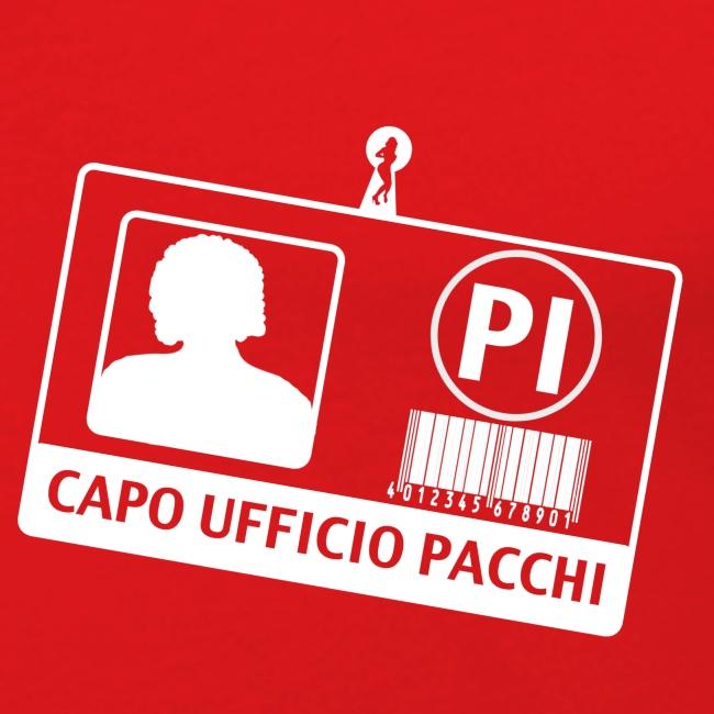 Capo Ufficio Pacchi (SCRITTA BIANCA - MAGLIETTA TUTTI I COLORI)