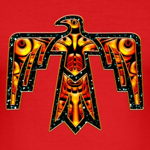 Thunderbird - native symbol power & strength T-shirts - Slim Fit T-shirt herr