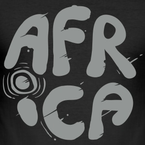 africa T-Shirts - Männer Slim Fit T-Shirt