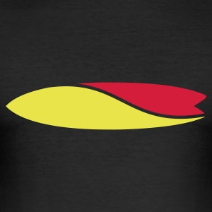 Surfboard - Männer Slim Fit T-Shirt