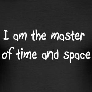 Master time space Tee shirts - Tee shirt près du corps Homme