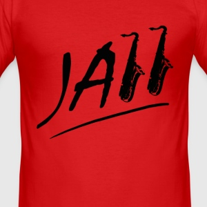 JAzz - Männer Slim Fit T-Shirt