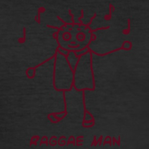 Raggae Man  - Slim Fit T-skjorte for menn