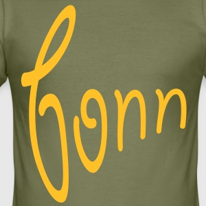 Bonn T-Shirts - Männer Slim Fit T-Shirt