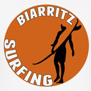 Biarritz surfing Tee shirts - Tee shirt près du corps Homme