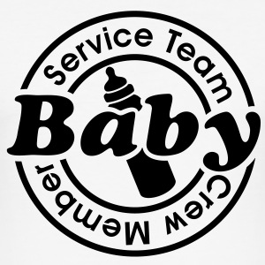 Service Team Baby - Crew Member.  T-Shirts - Men's Slim Fit T-Shirt