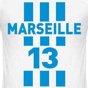 marseille_13 Tee shirts - Tee shirt près du corps Homme