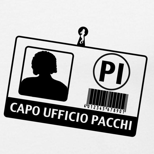 Capo Ufficio Pacchi (SCRITTA NERA - MAGLIETTA TUTTI I COLORI)
