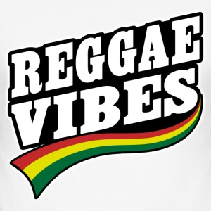 reggae vibes T-Shirts - Men's Slim Fit T-Shirt