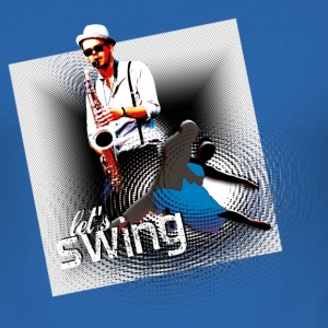 Let's swing' | Tanz Shirts - Tee shirt près du corps Homme