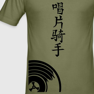 Camel DJ i kinesisk / disc jockey in chinese (1c) T-shirts - Herre Slim Fit T-Shirt