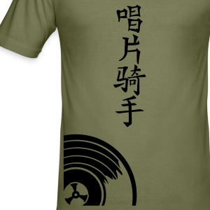 Camel DJ in het Chinees / disc jockey in chinese (1c) T-shirts - slim fit T-shirt