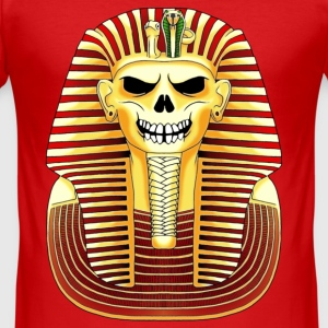 Pharaon Skull - Men's Slim Fit T-Shirt