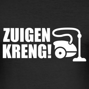 Zwart Zuigen kreng! T-shirts - slim fit T-shirt