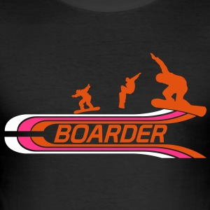 Boarder Tee shirts - Tee shirt près du corps Homme