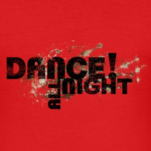 dance - Herre Slim Fit T-Shirt