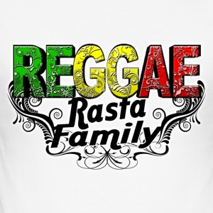 reggae rasta family T-Shirts - Men's Slim Fit T-Shirt