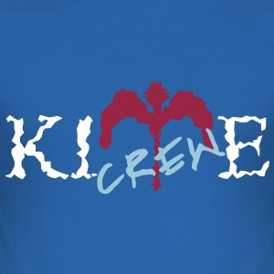 KITE CREW - Slim Fit T-shirt herr
