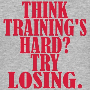 Think Trainings Hard Camisetas - Camiseta ajustada hombre