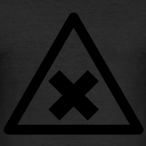 Hazard Symbol - Harmful Substances T-Shirts - Men's Slim Fit T-Shirt
