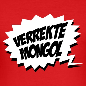 Rood Verrekte Mongol T-shirts - slim fit T-shirt