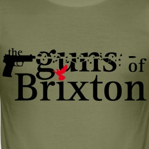 Camel The guns of brixton T-Shirts - Männer Slim Fit T-Shirt