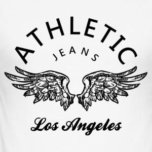 Athletic jeans los angeles Tee shirts - Tee shirt près du corps Homme