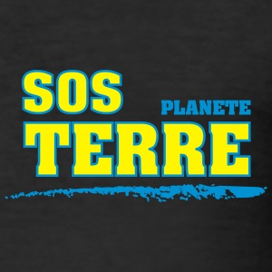 sos terre Tee shirts - Tee shirt près du corps Homme
